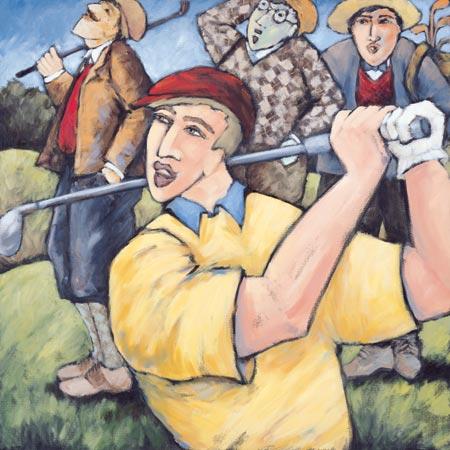 4 Golfers