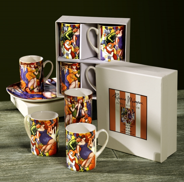 PARTY TIME MUG SET