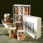 BATHING BEAUTIES MUG SET