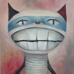 The smiling cat
