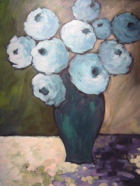 Blue Roses Bouquet