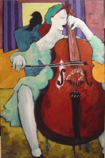 Cello Player #1