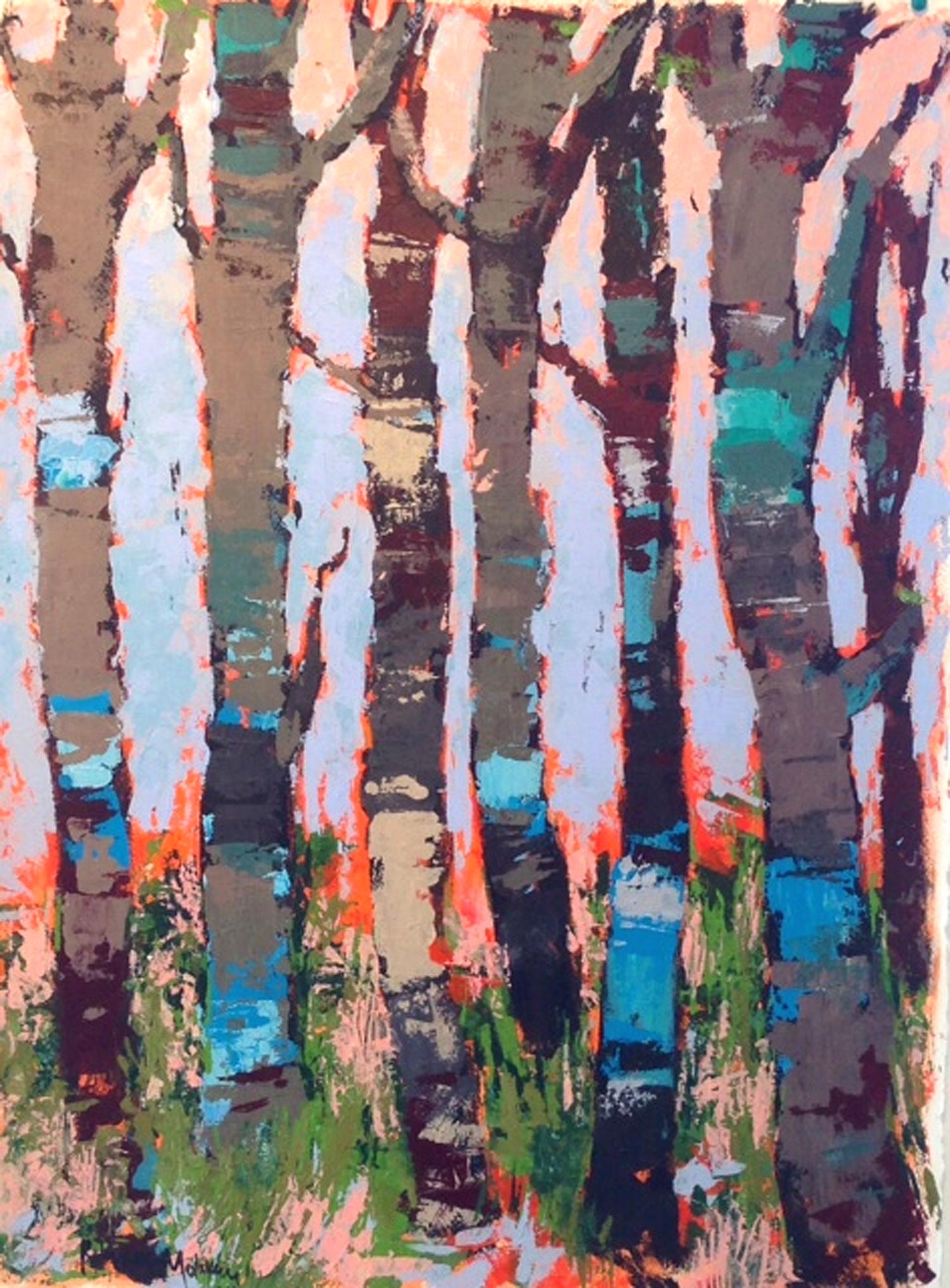 Birch Trees #1