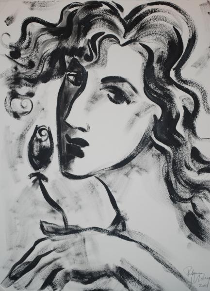 Face sketch 1