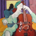 Cello Player #1