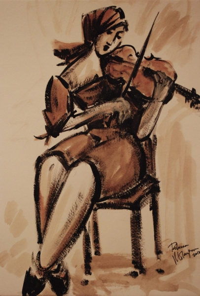 Viola sketch