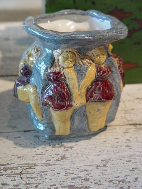 bathing bauties vase