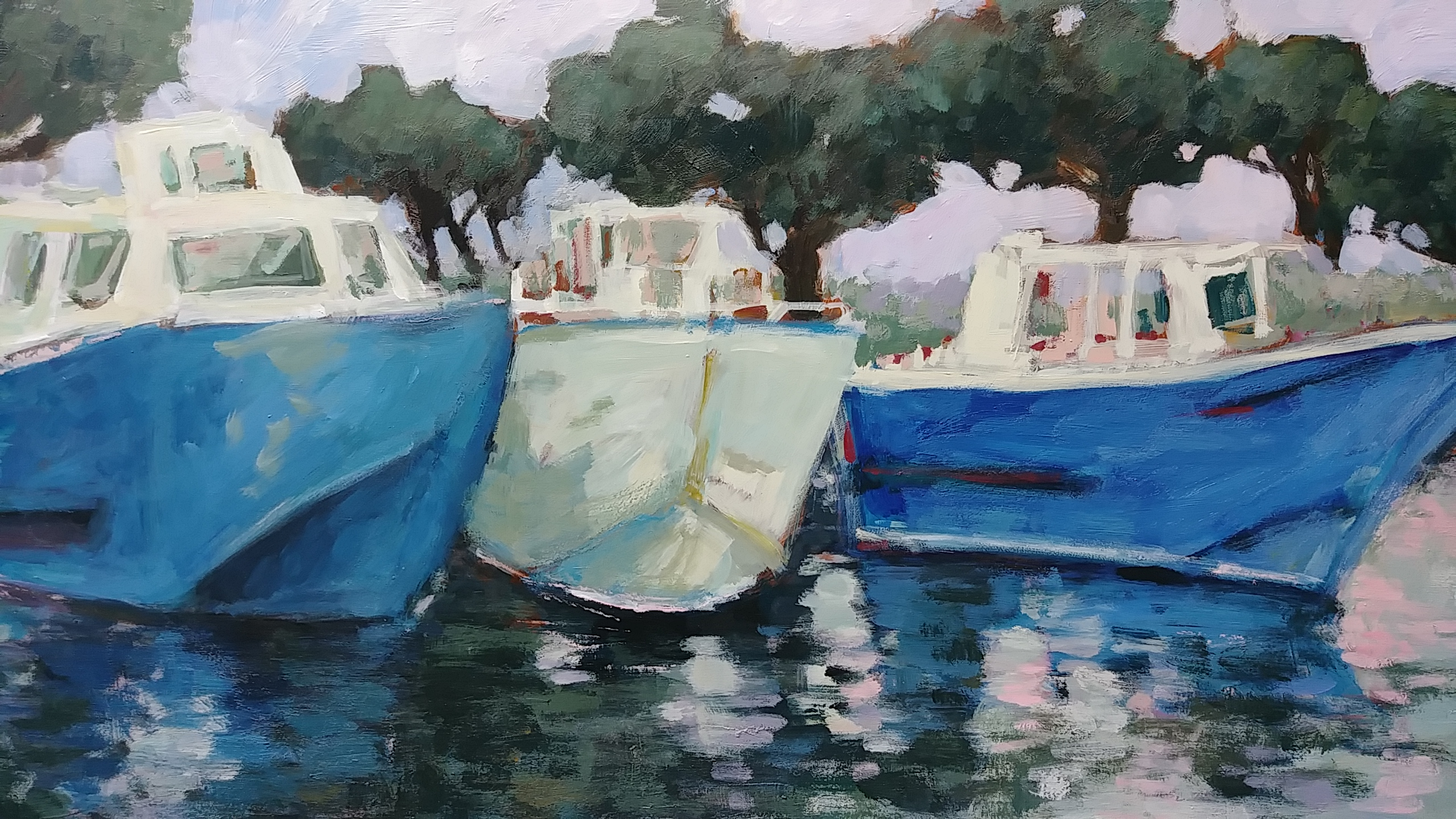 Boats at Cassis #3
