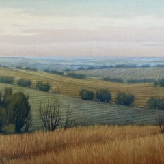 Eucalyptus and Rolling Hills