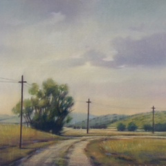 Roads and Telephone Poles